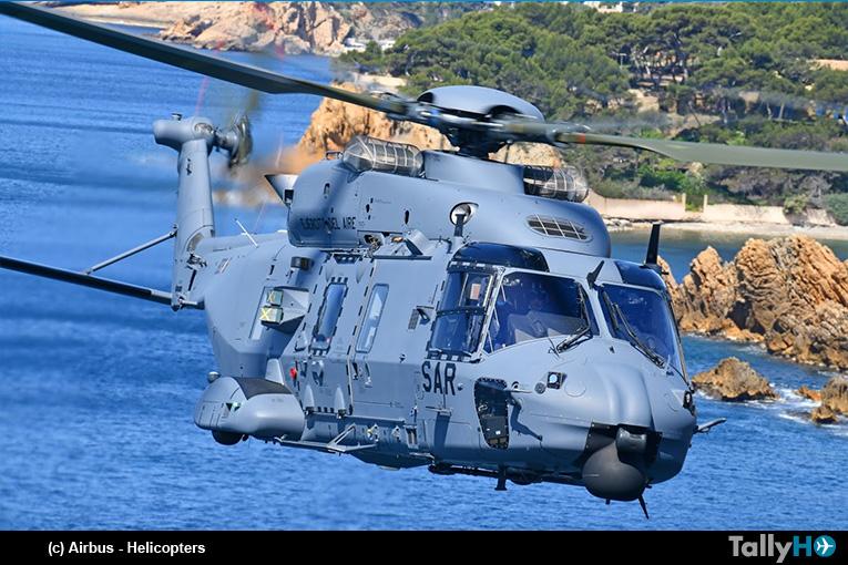 Primer NH90 entregado al Ejército del Aire para misiones de búsqueda y salvamento