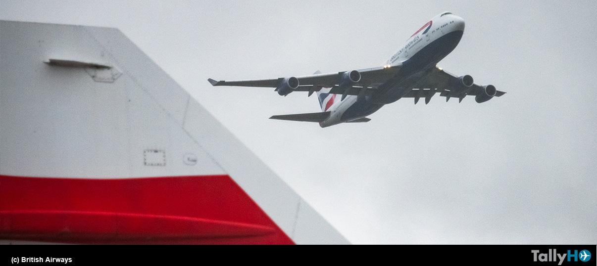 British Airways despide sus últimos dos Boeing 747