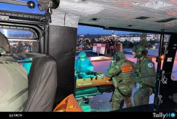 Fuerza Aérea de Chile efectuó rescate de mujer accidentada en la Provincia de Osorno
