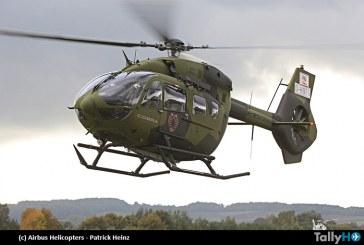 Fuerza Aérea Ecuatoriana  recibe primeros dos helicópteros Airbus Helicopters H145
