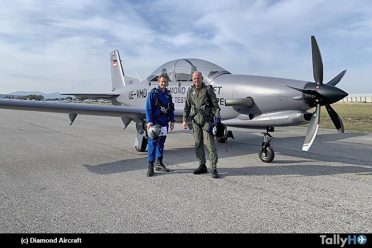 Fuerza Aérea Belga prueba el Diamond DART como futuro entrenador básico