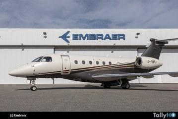 Embraer entrega el primer  Praetor 600 a Flexjet, su cliente de lanzamiento