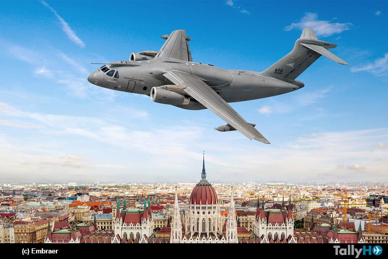 Hungría firma un contrato para la adquisición de dos aviones de transporte KC-390 Millennium