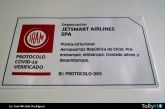 Jetsmart  instala «Sello IRAM Protocolo COVID-19 Verificado» en sus aeronaves