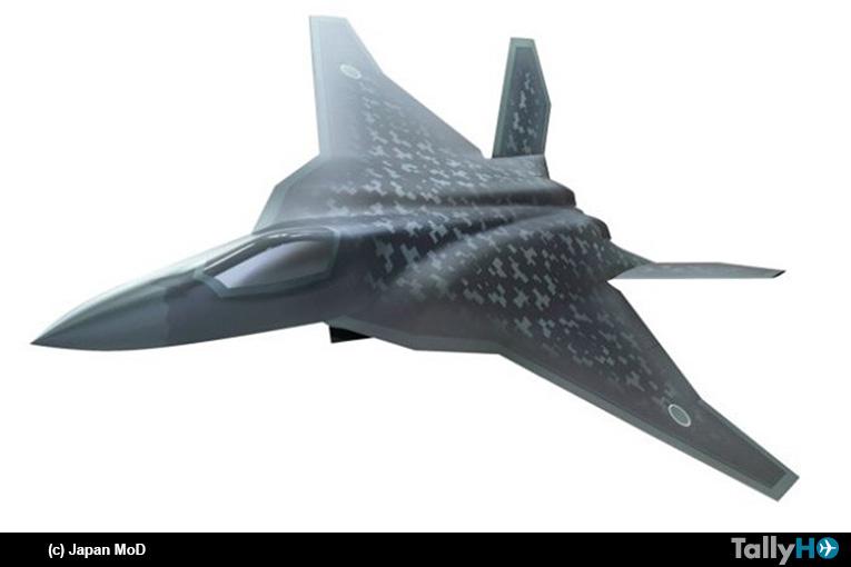 Japón desarrollará su próximo caza F-X con la compañía Mitsubishi Heavy Industries