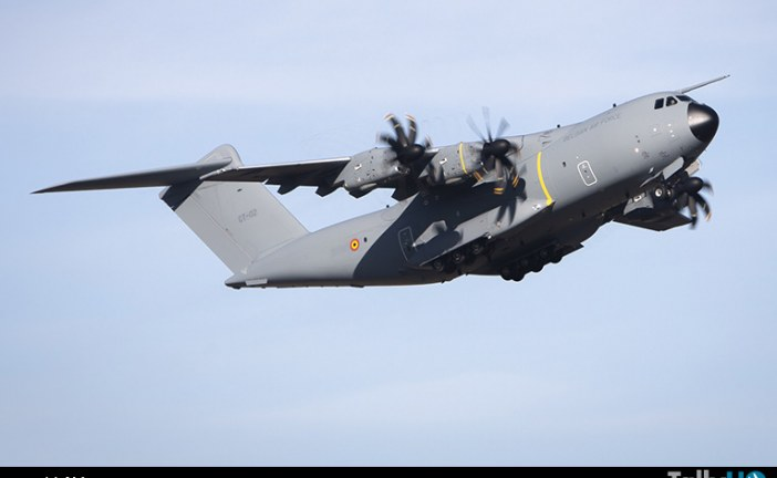 Airbus entrega el primer A400M a la Fuerza Aérea Belga