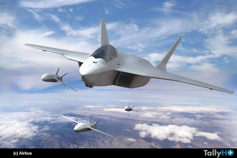 Airbus liderará área de baja observabilidad y el nuevo avión de combate del programa FCAS en España