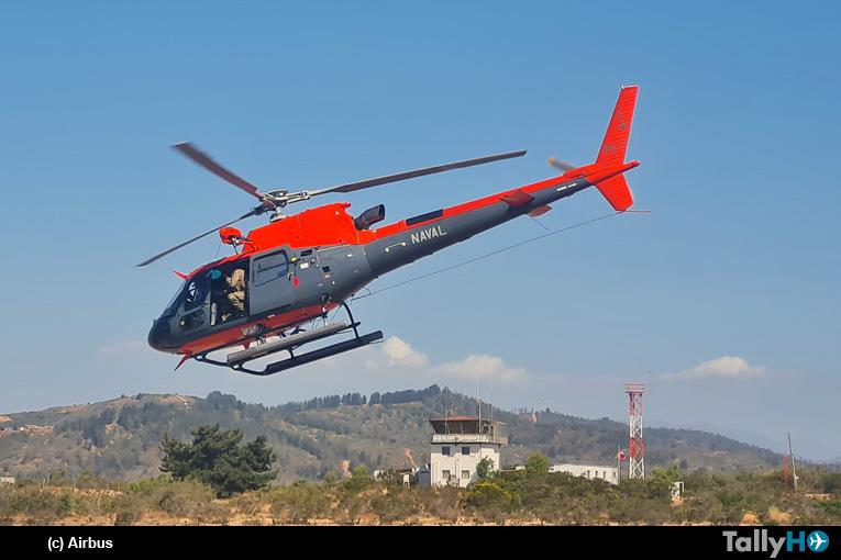 Armada recibe su primer Airbus Helicopters H125 Ecureuil
