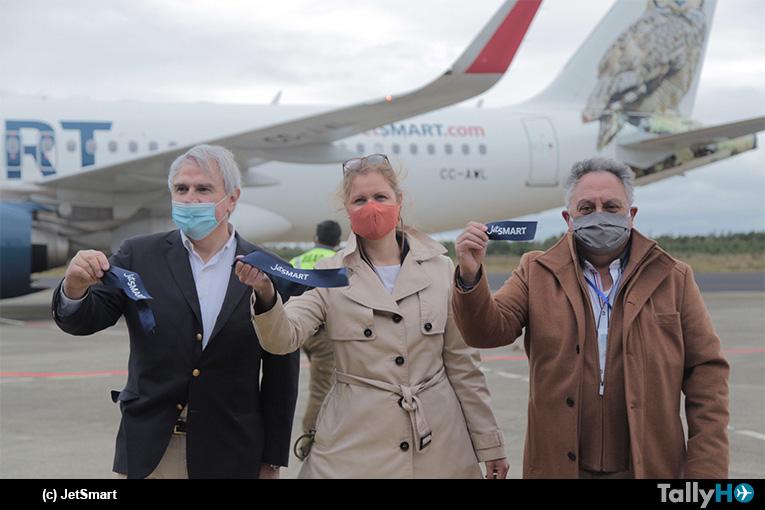 JetSMART realiza vuelo inaugural desde Santiago a Chiloé y lanza nueva ruta que conecta la isla con la ciudad de Temuco