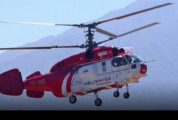 Kamov Ka-32A de Heliswiss International en Chile