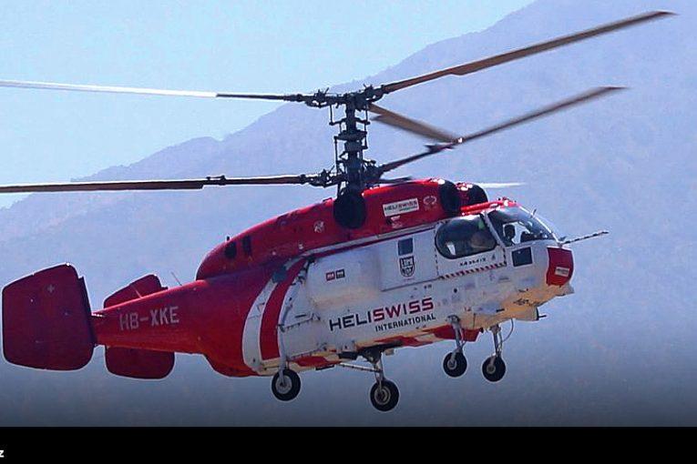 Kamov Ka-32A de Heliswiss International en Chile