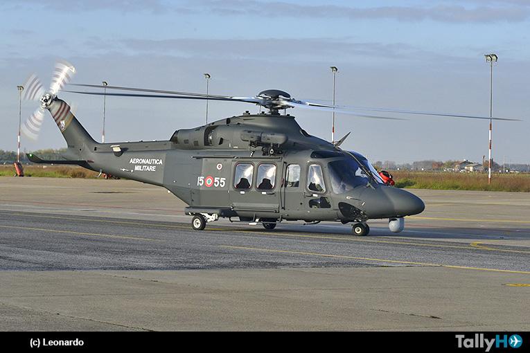 Leonardo entregó primer helicóptero HH-139B a la Fuerza Aérea Italiana