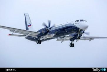 Primer vuelo del turbohélice de pasajeros regional Il-114-300