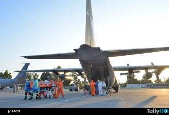 FACH realiza tres evacuaciones aeromédicas de pacientes con COVID19 desde Antofagasta a Santiago