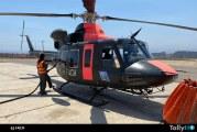 Operaciones de medios aéreos de las FFAA en incendio de la Reserva Nacional Lago Peñuelas
