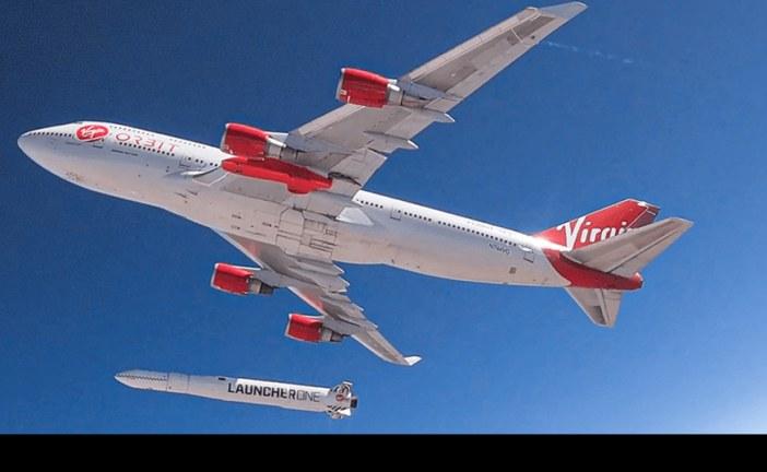 Exitoso lanzamiento desde el aire al espacio del cohete LauncherOne de Virgin Orbit