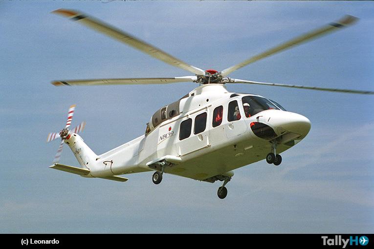 Leonardo celebra el vigésimo aniversario del primer vuelo del helicóptero AW139