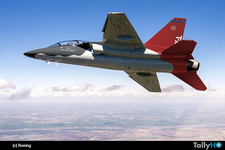 Boeing inicia la producción en serie del entrenador avanzado T-7A Red Hawk