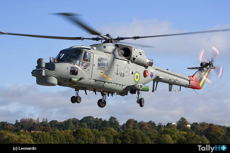 Leonardo continúa la entrega de Super Lynx Mk21B a la Armada de Brasil