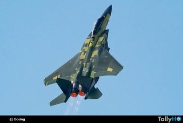 Boeing F-15EX realizó su primer vuelo