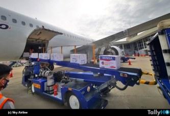 Sky Airline se suma al traslado de vacunas en Perú