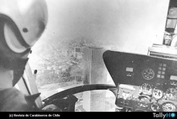 40 años del rescate aéreo en el incendio de la Torre Santa María