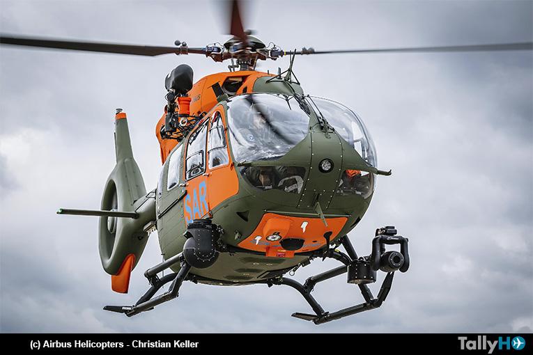 Airbus Helicopters entrega el séptimo H145 a las Fuerza Armadas Alemanas