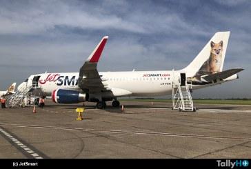 JetSMART vuela por primera vez desde Aeroparque en Argentina