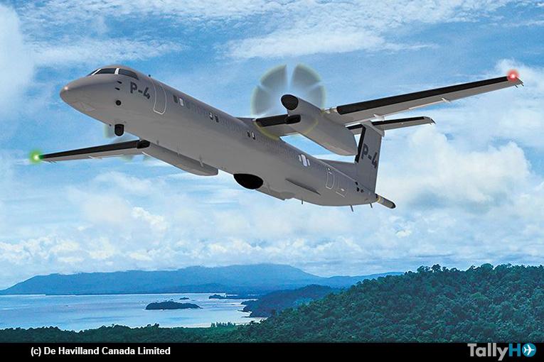 PAL Aerospace y De Havilland Canada anuncian MoU para desarrollar Dash 8 P-4 de misiones especiales