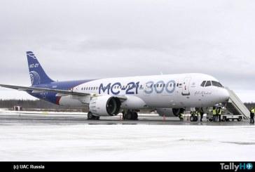Continúa avanzando el programa del MC-21-300 ahora será sometido a pruebas de formación de hielo