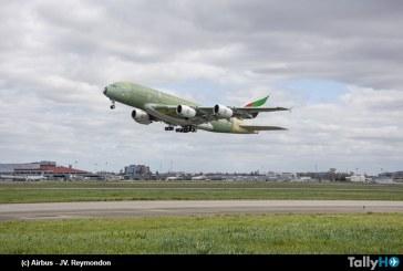 Último Airbus A380 dejó la planta de producción de Toulouse marcando el fin de una era