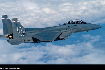 US Air Force recibe su primer Boeing F-15EX para pruebas