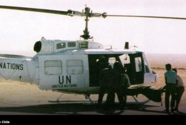 30 años del inicio de la misión de paz de la Fuerza Aérea de Chile a Kuwait