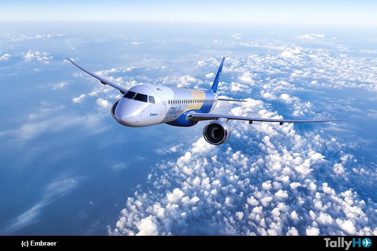 Embraer recibe pedido en firme por 30 aviones E195-E2
