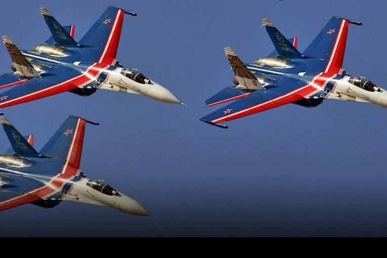 Escuadrilla Acrobática Russian Knights cumplió 30 años