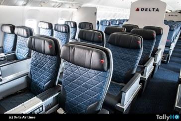Delta expande su experiencia «Delta Premium Select» a más aeronaves