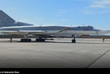 Rusia despliega escuadrilla de tres Tupolev Tu-22m3 a la base aérea de Khmeimim en Siria