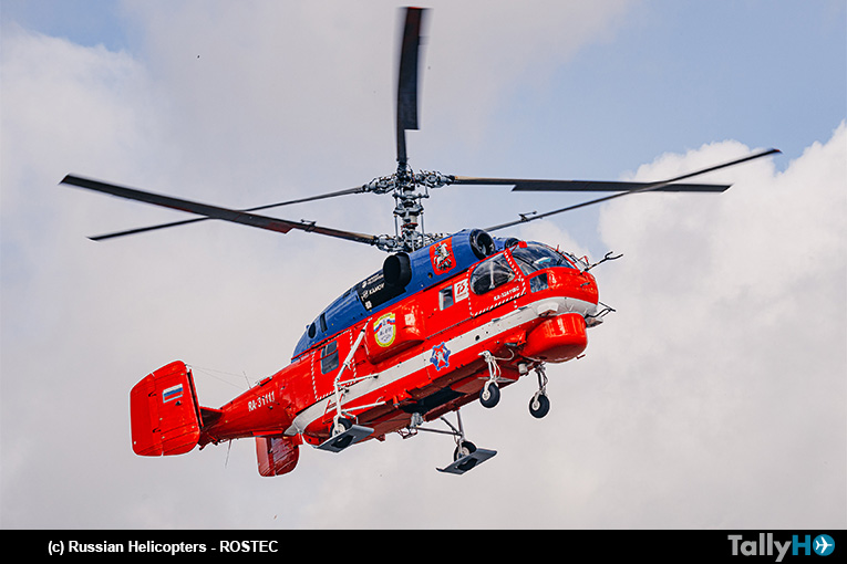 ROSTEC presentará versión modernizada del Ka-32A11M en MAKS
