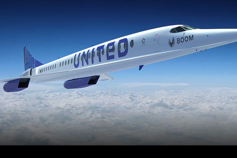 United sería la primera aerolínea de EE.UU. en firmar un acuerdo de compra de aviones con Boom Supersonic