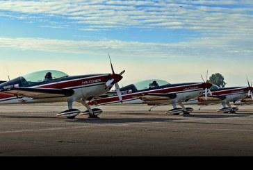 El fin de una era: último vuelo de los Extra-300L de la Escuadrilla Halcones de la FACH