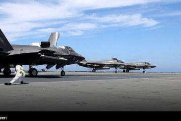 Por primera vez desde el HMS Queen Elizabeth se despliegan en misiones de combate aviones F-35B en la lucha contra Daesh