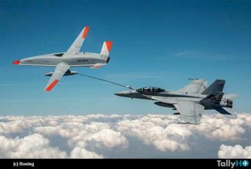 US Navy y Boeing marcan hito en la historia con el  MQ-25 convirtiéndose en el primer avión no tripulado en repostar otro avión