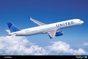 United Airlines ordena 70 aviones Airbus A321neo