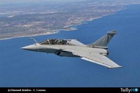 Dassault entrega primer Rafale a la Fuerza Aérea Helénica