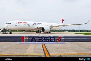 Airbus entregó el primer A350 terminado en sus instalaciones en China