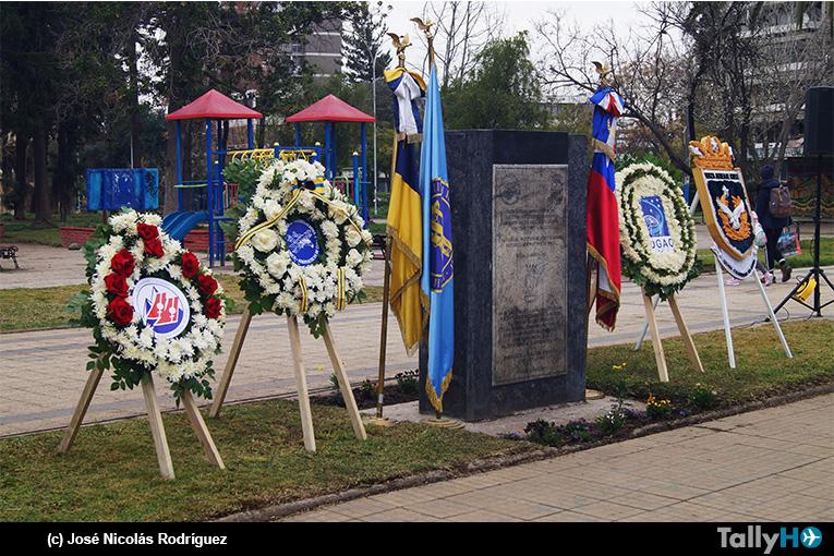 Ceremonia Conmemoración de los 111 años del Primer Vuelo en Chile