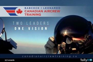 Babcock Canadá y Leonardo Canadá se unen para apoyar  programa Future Aircrew Training