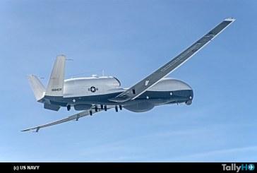 Drone Northrop Grumman Triton realizó primer vuelo con configuración multiinteligente