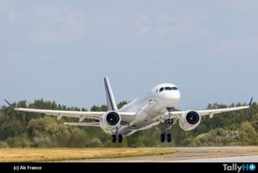 Airbus A220 de Air France vuela por primera vez