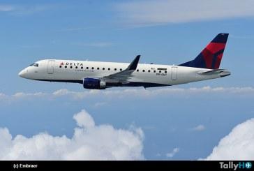 SkyWest Airlines ordena 16 nuevas aeronaves E175 para operar con Delta Air Lines